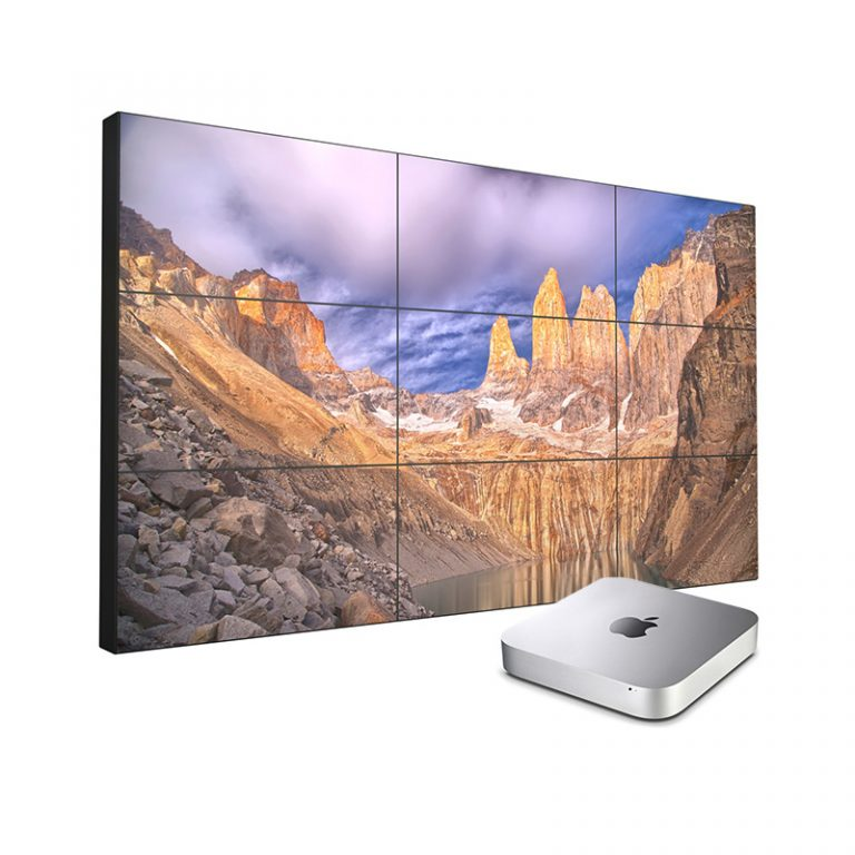 Foto Videowall 3x3 Displays